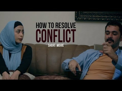 Short Film I Biwi aur Shauhar me ladai kaise khatm ho I How to resolve fight between Husband & Wife - Hindi/Urdu