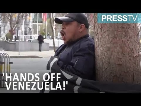 [10 March 2019] American protesters rally against potential US intervention in Venezuela - English