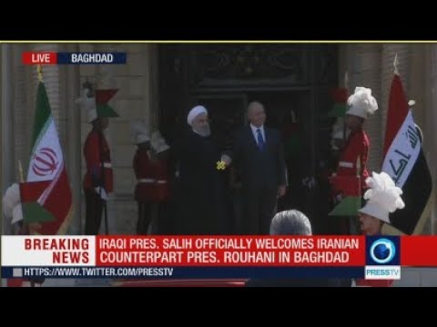 [11 March 2019] LIVE: Iraqi pres. Salih officially welcomes Iranian counterpart pres. Rouhani in Baghdad - English