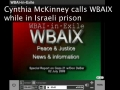 Cynthia McKinney calls WBAIX from Israeli prison-English