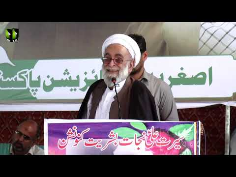 [Speech] H.I. Haider Ali Jawadi | Youm-e-Ali (as) | Asghariya Org. Convention 2019 - Sindhi