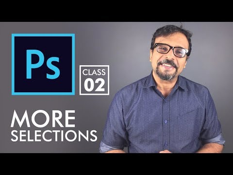 More Selections - Adobe Photoshop for Beginners - Class 2 | Urdu Hindi
