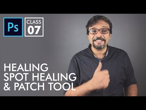 Healing Tools - Adobe Photoshop for Beginners - Class 7   Urdu Hindi