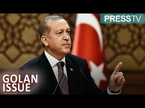 [25 March 2019] Turkey to take issue of Golan Heights to UN, Erdogan says - English