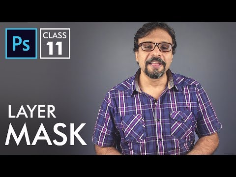 Layer Mask - Adobe Photoshop for Beginners - Class 11 | Urdu Hindi