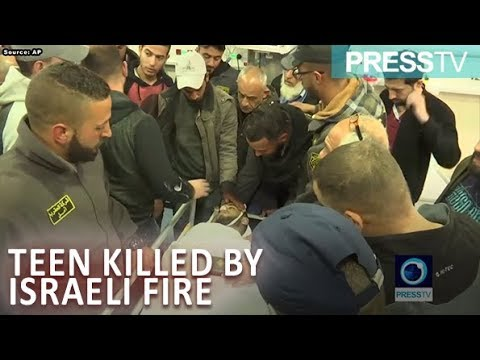 [28 March 2019] Palestinian teen dies in clashes with Israeli troops - English