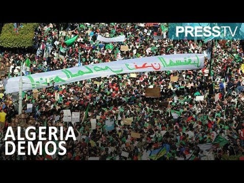 [30 March 2019] Million protesters march gainst Algeria's Bouteflika - English