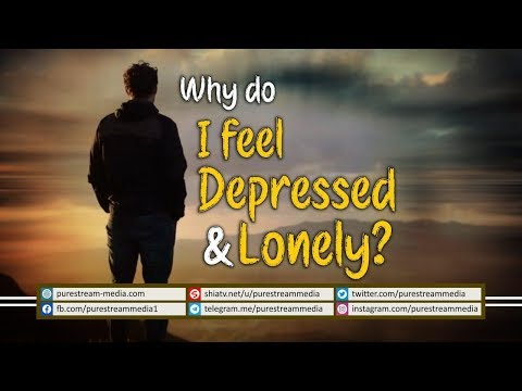 Why do I feel Depressed & Lonely? | Agha Alireza Panahian | Farsi Sub English