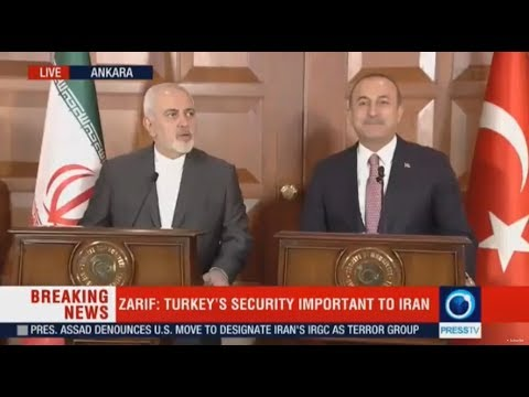 [17 April 2019] LIVE: Turkish, Iranian FMs holding news conference - English
