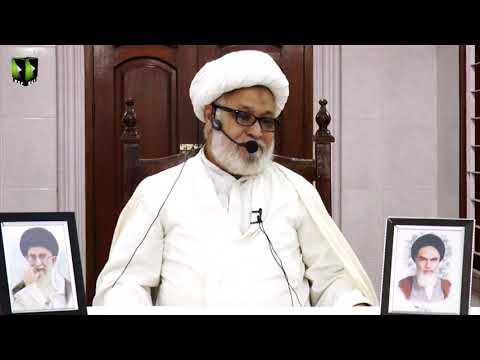 [Dars-e-Ikhlaaq 5 ] Topic: نوجوانوں کے اخلاقی مسائل  | H.I Ghulam Abbas Raesi - Urdu