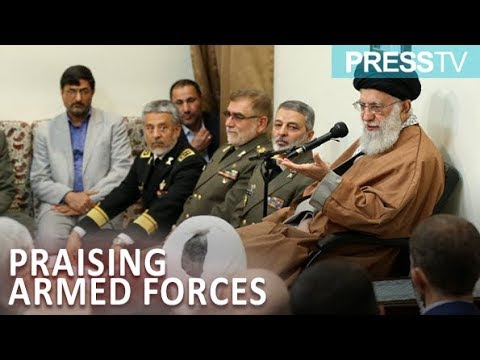 [18 April 2019] Leader praises role of Iran's armed forces in dealing with domestic, regional issues - English