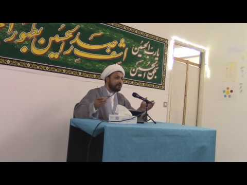 Speech in 15 Shaban Imam Mahdi Aj wiladat program-Urdu