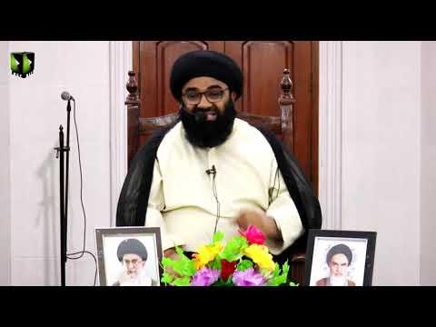 [Dars-e-Ikhlaaq 6 ]  H.I Kazim Abbas Naqvi | 23 April 2019 - Urdu