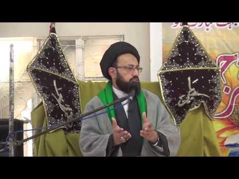 [Lecture] Topic: Rehmat e Khuda ka Mazhar | H.I Sadiq Raza Taqvi - Urdu