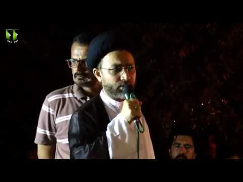 [Speech] لاپتہ شیعہ افراد کی بازیابی کیلئے احتجاجی دھرنا | Mol. Shehanshah - Urd