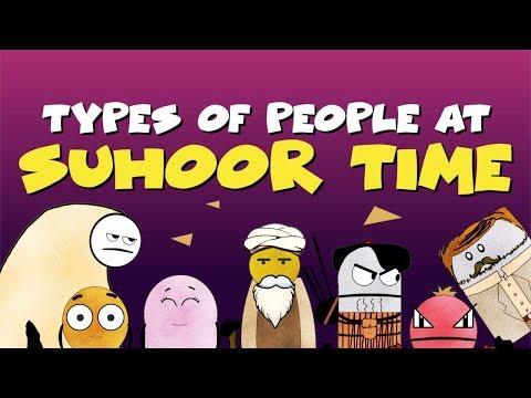Types of People at Suhoor Time   BISKITOONS   English