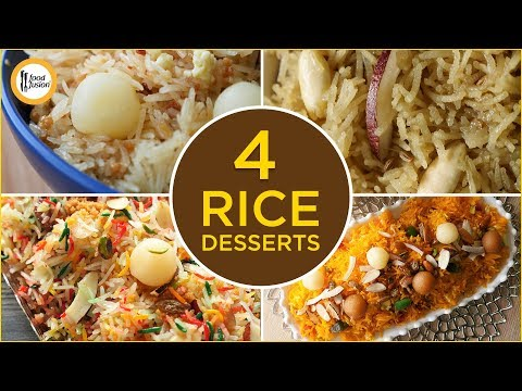 [Quick Recipes] 4 Desi Rice Desserts (Ramzan Special Recipes) - English Urdu