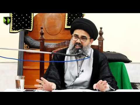 [Lecture 2] Topic: صلح امام حسن ؑ ، قیام عاشورا کا مقدمہ | H.I Ahmed Iqbal Rizvi - Urdu