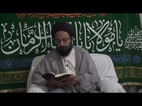 [3] Topic:  Dua e Iftitah - دعا افتتاح | H.I Sadiq Raza Taqvi - Urdu