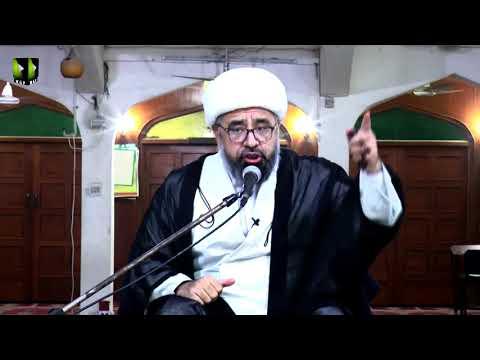 [Majlis 1] Topic: علیؑ کی محبت انسانیت کی نشانی | H.I Muhammad Amin Shaheedi | Mah-e-Ramzaan 144