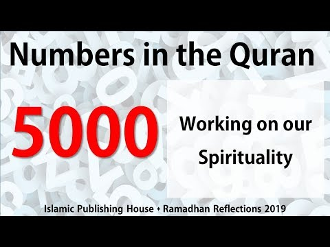 Working on our Spirituality - Ramadhan Reflections 2019 [Day 28] - English