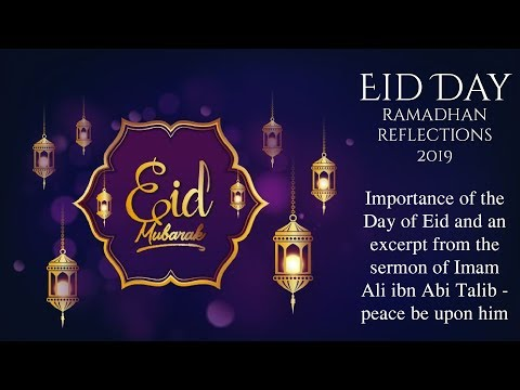 Returning Back to God - Ramadhan Reflections 2019 [Eid Day] - English