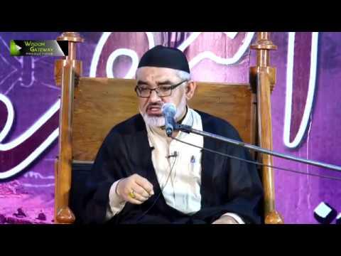 [Majlis-e-Aza] یوم انہدام جنت البقیع | H.I Syed Ali Murtaza Zaidi | 12 June 2019 - Urdu