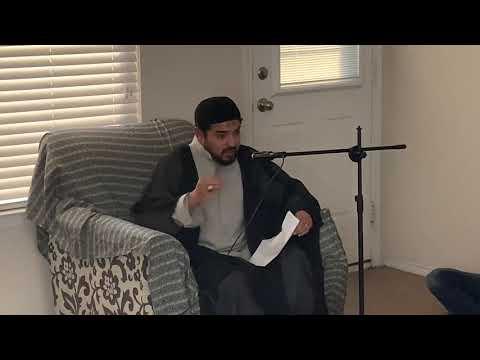 [Lecture] Topic: Reasons Behind Imam Mehdi (ajtf) Occulation   Moulana Syed Muzzamil Zaidi - Urdu