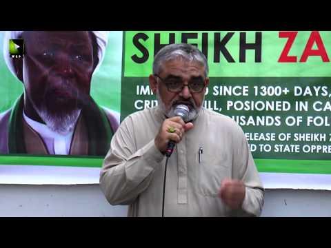 [Speech] Global Free Shiekh Zakzaky Protest Day | H.I Ali Murtaza Zaidi | 28 July 2019 - Urdu