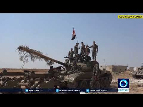 [14 August 2019] Syrian forces clashes with militants in northern Syria - English