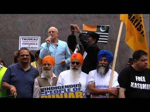 Sid Ryan Addressing to Kashmir Solidarity Rally Toronto 18Aug2019 - English