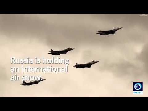 [29 August 2019] Russia holds international air show; Iran showcases its latest achievements - English