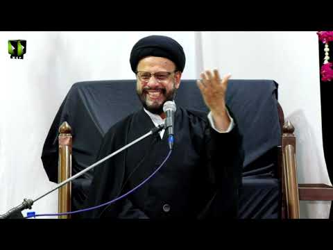 [05] Topic: Accept Islam As A Challenge | H.I Syed Zaki Baqri | Muharram 1441 - Urdu