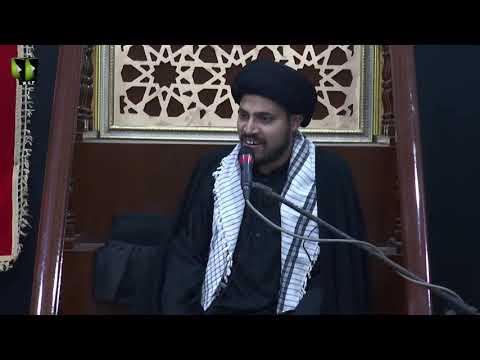 [02] Topic: Nusrat-e-Imam Hussain (as) | Moulana Haider Ali Jafri | Muharram 1441/2019 - Urdu