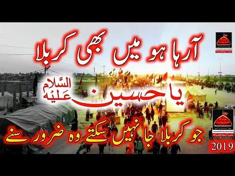 Araha Hu Mai Bhi Karbala - Shadman Raza | Noha - Muharram | 1441/2019 Urdu