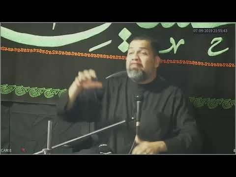 [8th Night] Topic: Less is more in a culture of Extravagant spending Br. Syed Asad Jafri |Muharram 1441/2019 English