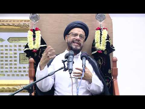 3rd Majlis Shab 3rd Muharram 1441/02.09.2019 Topic:Challenges Faced By Today\'s Youth I HI Syed Muhammad Zaki Baqri-Urdu