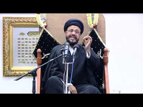 9th Majlis Shab 9th Muharram 1441/08.09.2019 Topic:Challenges Faced By Today\'s Youth I HI Syed Mohammad Zaki Baqri-Urdu