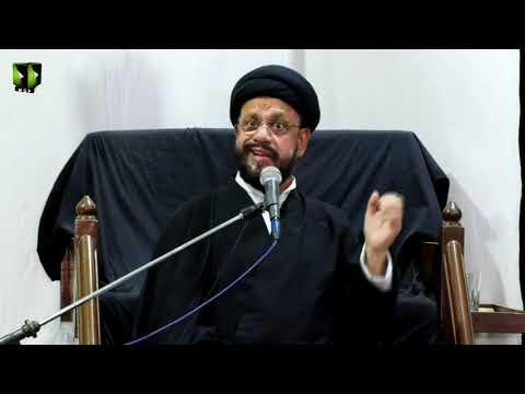 [10] Topic: Accept Islam As A Challenge | H.I Syed Zaki Baqri | Muharram 1441 - Urdu
