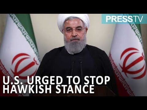 [11 Sept 2019] Iran President urges U.S. to stop hawkish stance - English