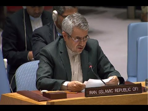 [11 Sept 2019] Iran UN envoy: No talks as long as sanctions are kept - English