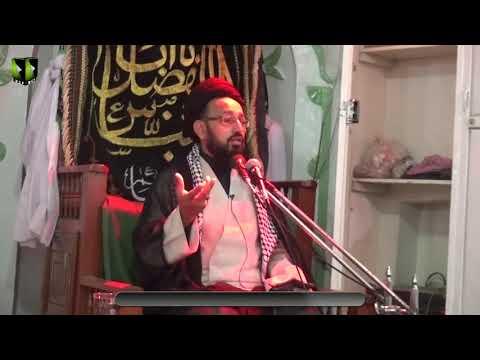 [01] Topic: Awamil e Baqaa e Karbala | H.I Syed Sadiq Raza Taqvi | Muharram 1441/2019 - Urdu