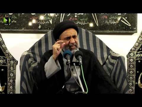 [04] Topic: Quran, Karbala Or Ham | H.I Muhammad Haider Naqvi | Muharram 1441 - Urdu