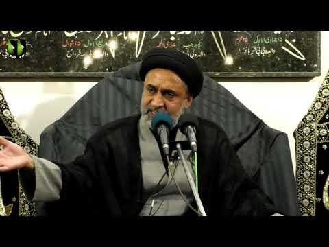 [08] Topic: Quran, Karbala Or Ham | H.I Muhammad Haider Naqvi | Muharram 1441 - Urdu