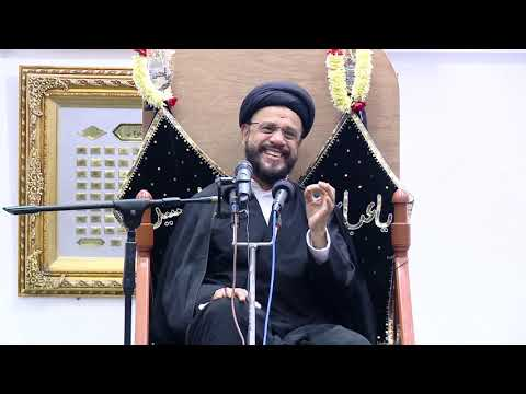 10th Majlis Shab 10th Muharram 1441/09.09.19 Topic:Challenges Faced By Today\'s Youth I HI Syed Mohammad Zaki Baqri-Urdu
