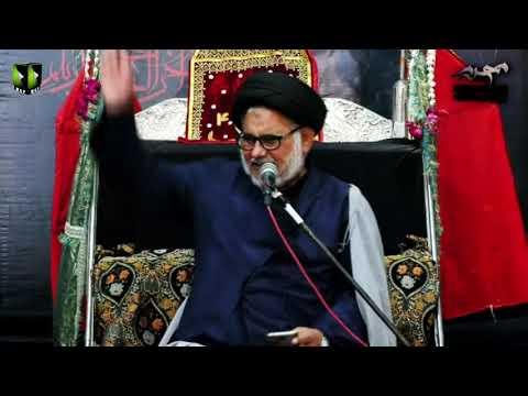[07] Topic: Marjaeyat , Masomeen (as) ke Nigah May   H.I Hasan Zafar Naqvi   Muharram 1441/2019 - Urdu