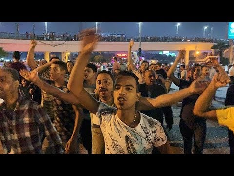 [21 September 2019] Egyptians demand President Sisi\'s removal - English