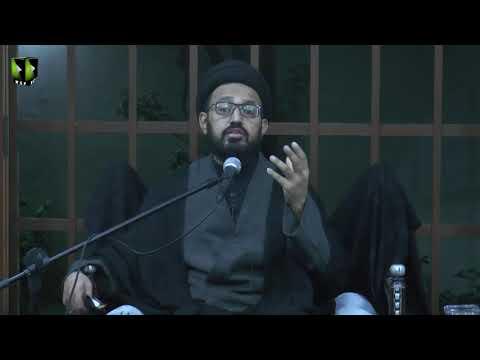 [01] Topic: Imam Sajjad (as) ke Fikri Tehreek | H.I Sadiq Raza Taqvi | Muharram 1441/2019 - Urdu