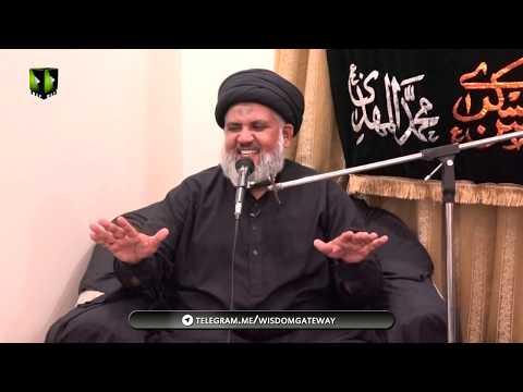 [01] Topic: Marifat e Taheed wa Wilayat  |H.I Hassan Raza Hamdani | Muharram 1441 - Urdu