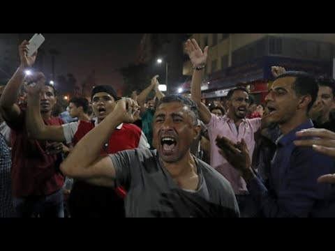 [22 September 2019] Egypt: Aanti-Sisi protest breaks out in downtown Cairo - English